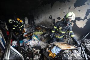 Požár bytu v Třebíči zabil muže, dvě ženy přiotrávil