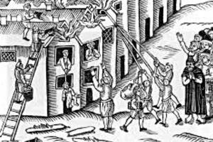 Ve středověku Prahu před ohněm chránili židé