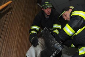 Požár kanceláře v pražském Xaverově způsobila technická závada elektroinstalace