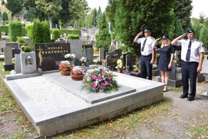 Nezapomínáme. Hasiči uctili památku tragicky zesnulého kolegy
