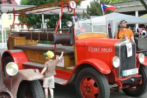Řipské hasičské setkání. Přehlídka parádní historie a současnosti
