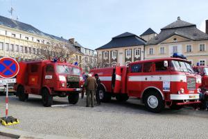 Profesionální hasiči v Kutné Hoře oslavili 50 let od svého vzniku