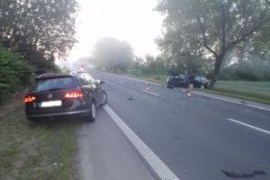 Nehoda u Bílan na Kroměřížsku pro oba řidiče nedopadla dobře