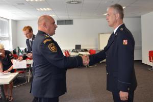 Pocta i poděkování. Středočeští hasiči převzali medaile za dlouholetou službu