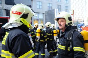 Jiří Brejla odsloužil svou poslední směnu. U pražských hasičů byl 35 let