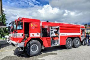 Nové vozy pro hasiče. Dorazíly do Vimperku a Českých Budějovic