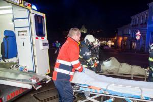 Náročné cvičení prověřilo dačické profesionální i dobrovolné hasiče