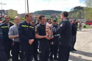 Vítězové soutěže ve vyprošťování osob jsou hasiči ze Vsetína