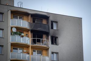 Bohumínská tragédie: Požár bytu zabil 11 lidí, z toho tři děti