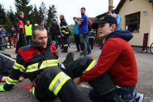 Ohnivá rozhledna čeká na nejtvrdší hasiče. Makačka měřena na minuty