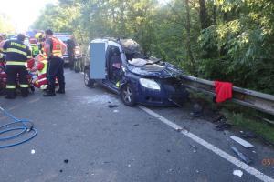 Vážná dopravní nehoda uzavřela silnici u Častolovic na tři hodiny