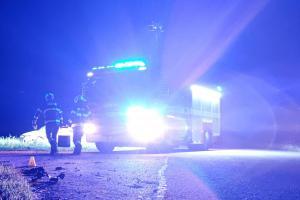 Aktualita: Nehoda mezi Chvojencem a Holicemi. Dodávka s kamionem v sobě