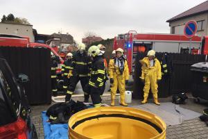 Hasiči na Olomoucku cvičili řešení nebezpečných událostí