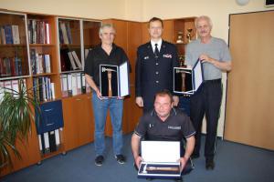 Zlínsko: Hasiči se loučili se svými dlouholetými kolegy