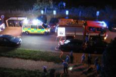 Při požáru v instalační šachtě bytového domu hasiči evakuovali 20 osob
