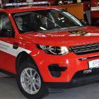 K dopravním nehodám hasiči vyrazí v nových zásahových vozidlech