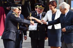 Letí to. Liberečtí hasiči slavili 110. výročí své první budovy