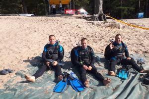 Pražští potápěči obstáli v silné konkurenci na mistrovství v Lotyšsku