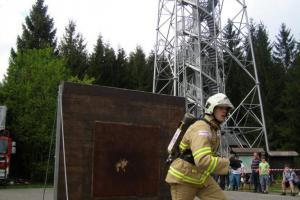 Ohnivá rozhledna již po desáté přivítá nejtvrdší hasiče naší republiky