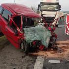 Na dálnici D1 u Podolí se o víkendu umíralo. Byl to řidič osobáku