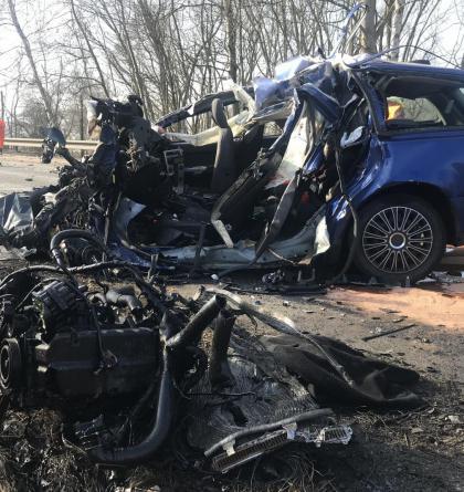 Tragická nehoda u Bystřice uzavřela hlavní tah mezi Prahou a Táborem
