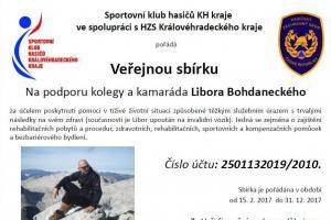 Přispějete? Veřejná sbírka pro zraněné příslušníky HZS Královéhradeckého kraje