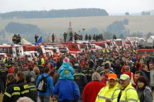 Profesionální hasiči se představí na Pyrocaru. O zajímavosti nouze nebude