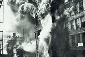 Boj proti požárům před sto lety