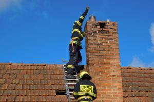 Pardubicko: V jedom týdnu čtvrtý požár, který způsobil komín