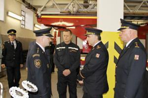 Za Středočechy přijel generál. Problematika hasičů? Doplnit stavy!