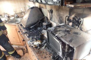 Kávička za půl milionu.V Holoubkově vyhořela kuchyně od rychlovarné konvice