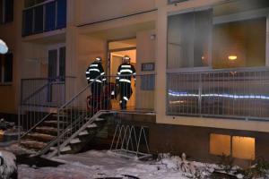 Požárů bytů zrovna moc neubývá. Hořel jeden i v České Lípě