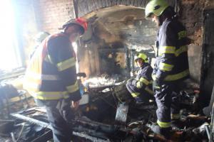 Požár bytu ve Dvoře Králové nad Labem způsobil nemalou škodu