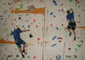 Borec na konec. V Olomouci se konal 16. přebor v lezení na obtížnost (VIDEO)