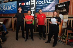 Hasiči a skalní záchranáři se představili na filmovém festivalu