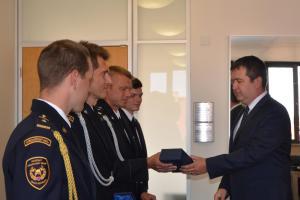 Po zásluze odměněni! Hasičům Středočeského kraje se poklonil ministr vnitra