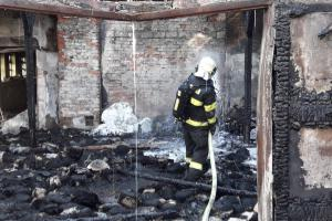 Budova nikomu nepatřila, shořela a škoda je nulová