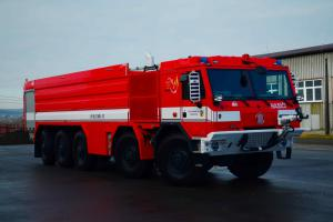 Velkoobjemová cisterna CV 40 už zařazena do služby hasičům