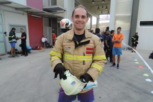 Zlínský hasič Jan Haderka zazářil svým výkonem na hrách ve Španělsku