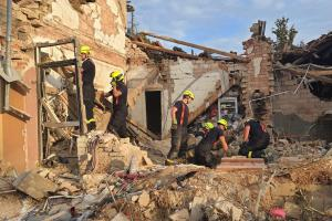 Tragédie v Koryčanech. Výbuch plynu usmrtil dva dobrovolné hasiče