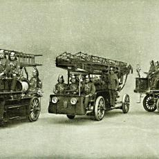 Hasičský automobilový vlak