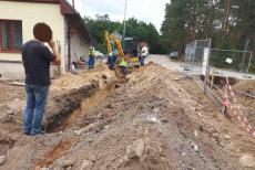 Hasiči na Pardubicku zasahovali u narušeného potrubí plynu
